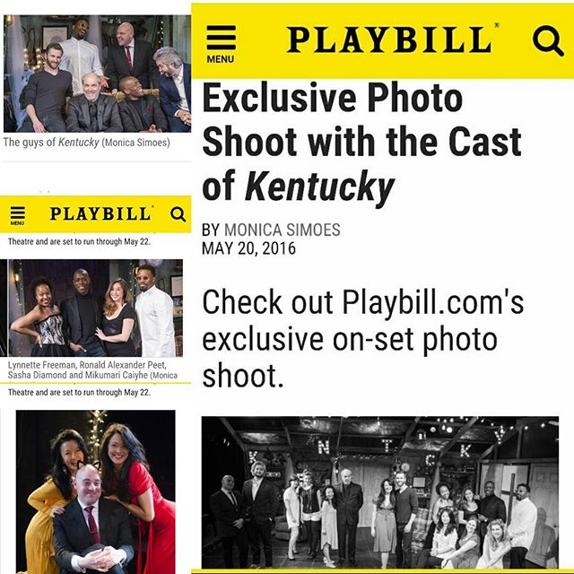 This was so cool. Thanks #Playbill! Full feature here http://www.playbill.com/article/exclusive-photo-shoot-with-the-cast-of-kentucky